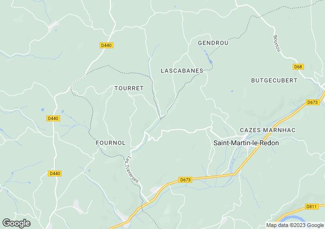 Map for Secteur: Montcabrier, Lot