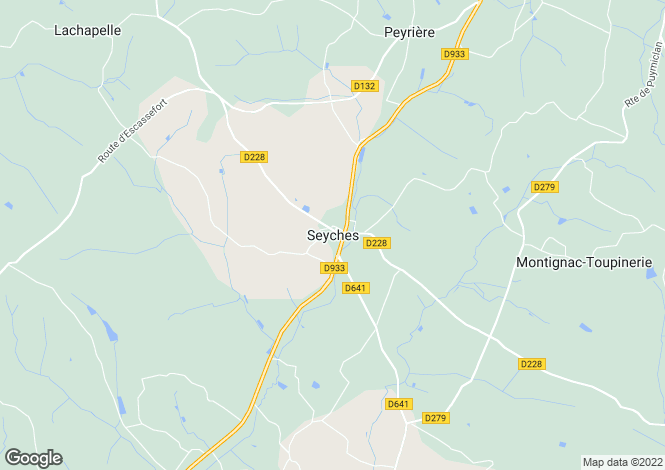 Map for Seyches, Aquitaine, 47350, France