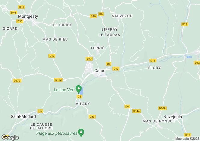 Map for Secteur: Catus, Lot