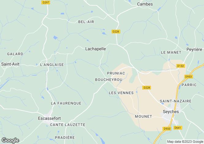 Map for Lachapelle, Lot-et-Garonne, Aquitaine