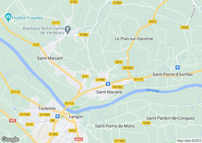Map for st-macaire, Gironde, France