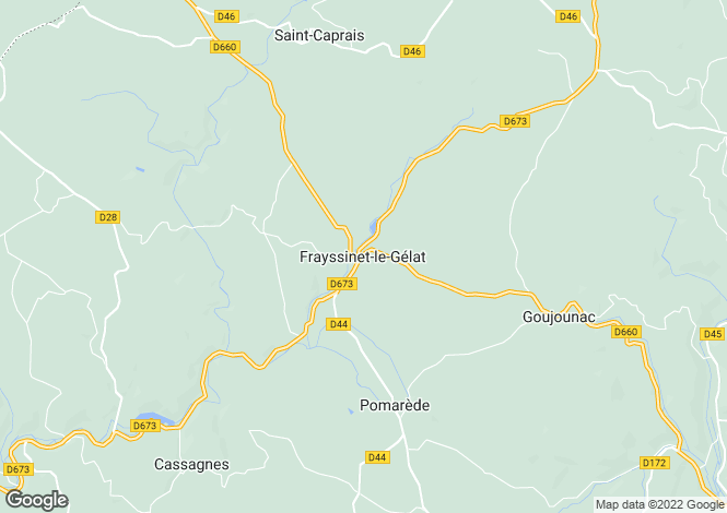 Map for Secteur: Salviac, Lot