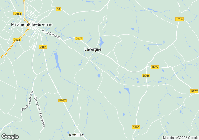 Map for lavergne, Lot-et-Garonne, France
