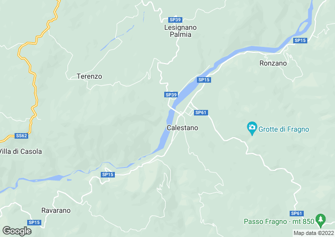 Map for Calestano, Parma, Emilia-Romagna