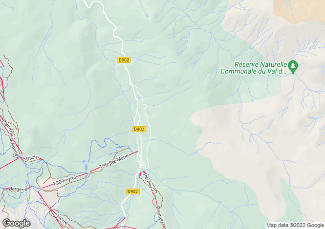 Map for vars, Hautes-Alpes, France