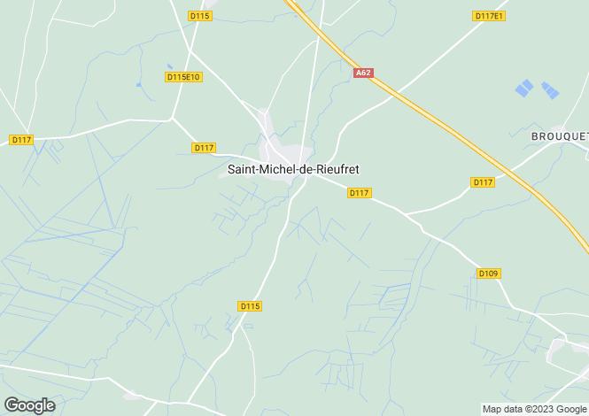 Map for st-michel-de-rieufret, Gironde, France