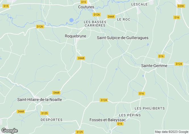 Map for nr-monsegur, Gironde, France