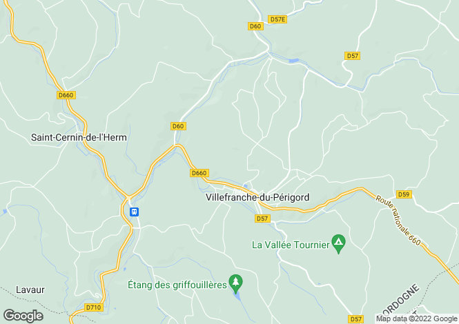 Map for Villefranche-du-Perigord, Dordogne, 24550, France