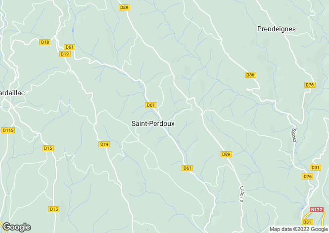 Map for Midi-Pyrenees, Lot, Saint-Perdoux