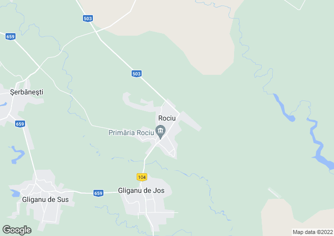 Map for Arges, Rociu