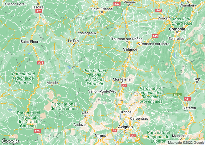 Map for saint-martin-d-ardeche, Ardèche, France