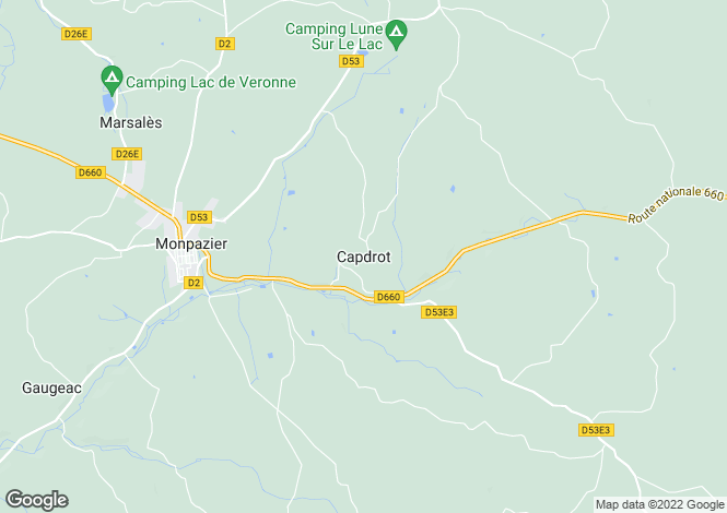 Map for Capdrot, Aquitaine, 24540, France