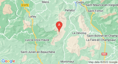 map of Rocher Rond (France)