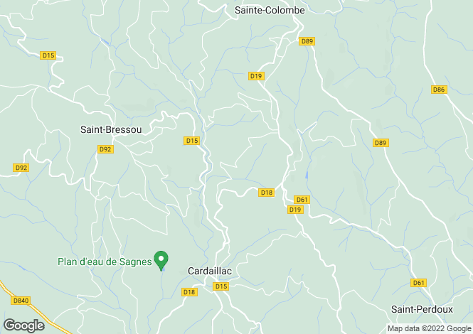 Map for Nr Figeac, Lot