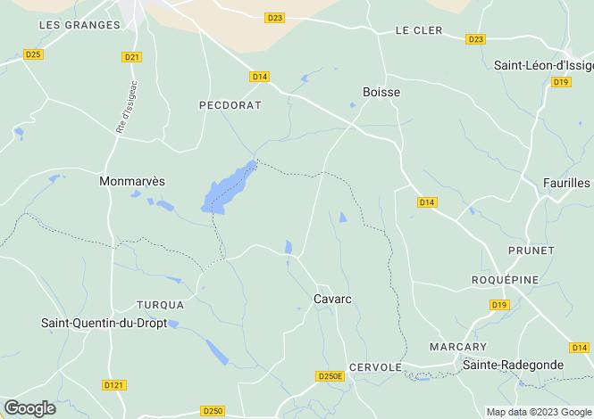 Map for Secteur: Castillonnes, Lot-et-Garonne