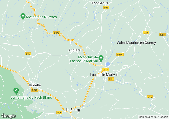 Map for Midi-Pyrenees, Lot, Lacapelle-Marival