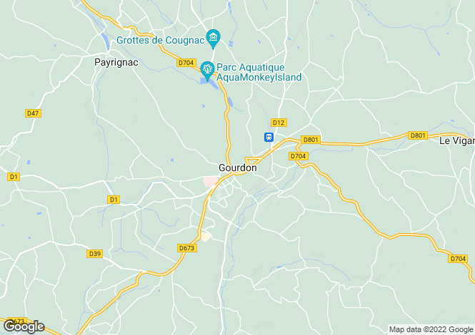 Map for Secteur: Gourdon, Lot