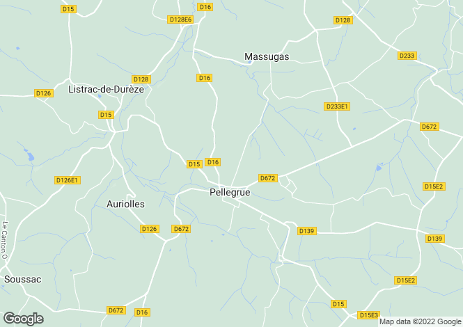 Map for pellegrue, Gironde, France