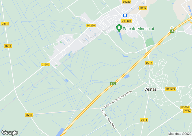 Map for 33160 st-aubin-de-medoc