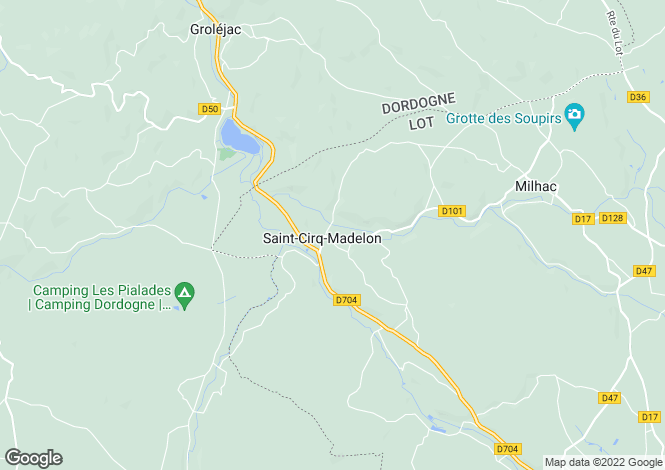 Map for st-cirq-madelon, Lot, France
