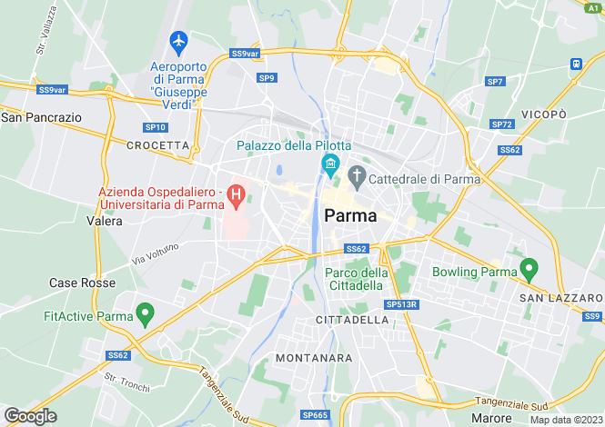 Map for Parma, Parma, Emilia-Romagna