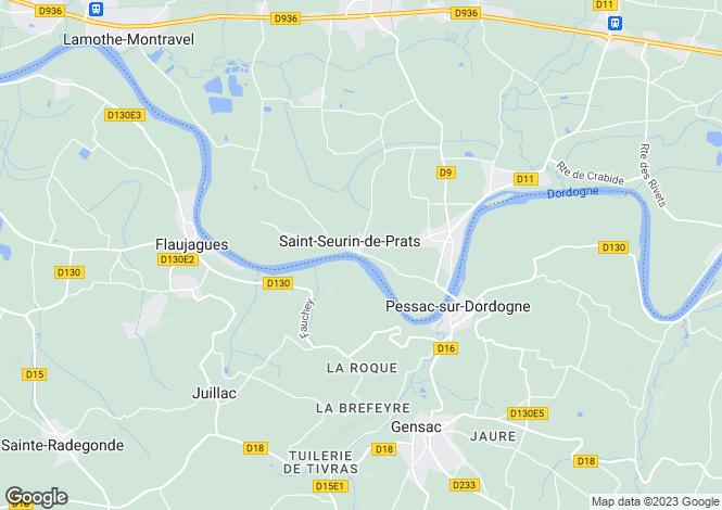 Map for Saint-Seurin-de-Prats, Dordogne