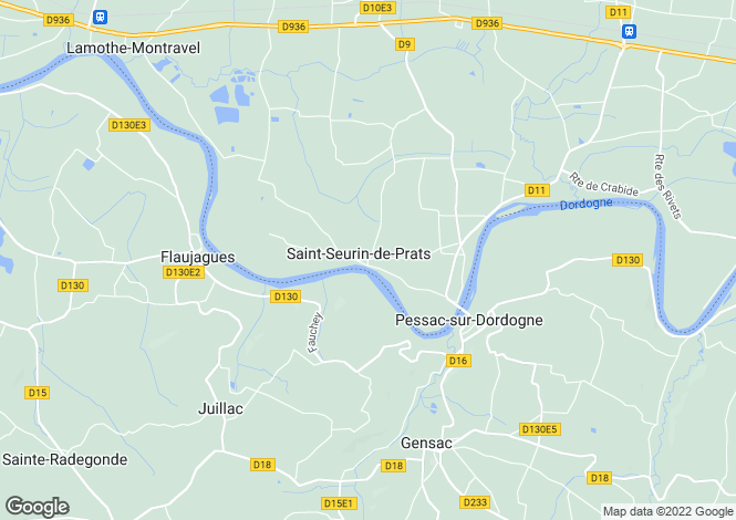 Map for Saint-Seurin-de-Prats, Dordogne, Aquitaine
