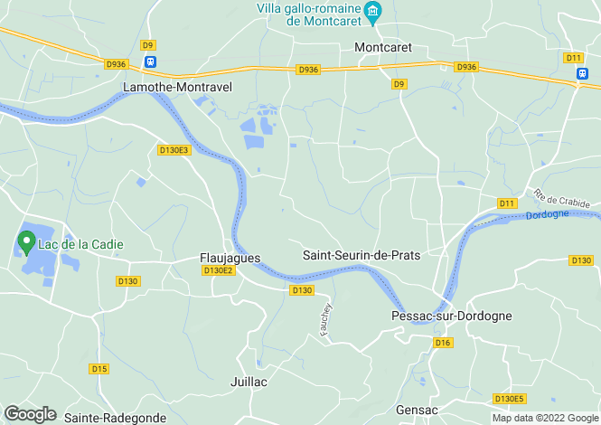 Map for Flaujagues, 33890, France