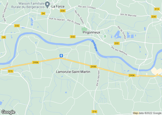 Map for lamonzie-st-martin, Dordogne, France