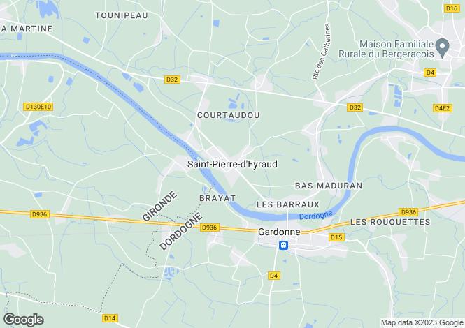 Map for Secteur: La Force, Dordogne