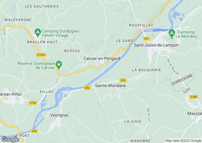 Map for ste-mondane, Dordogne, France