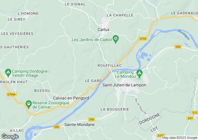 Map for st-julien-de-lampon, Dordogne, France