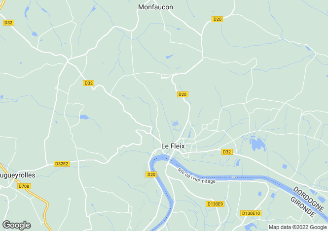 Map for le-fleix, Dordogne, France