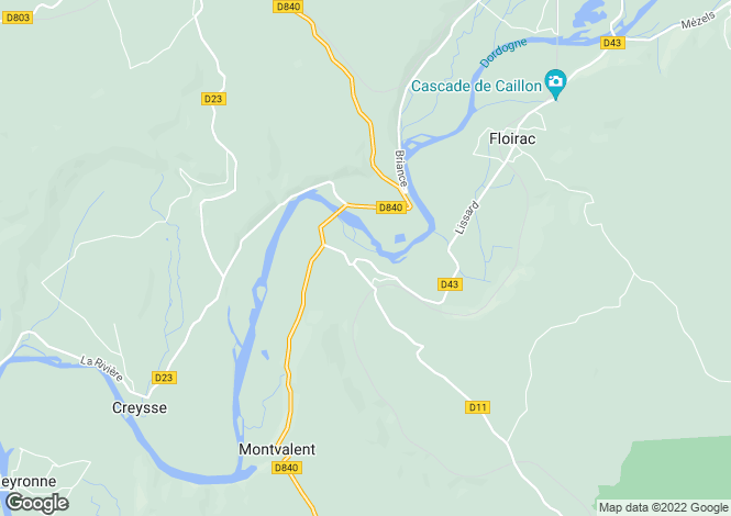 Map for Martel, Lot, Midi-Pyrénées