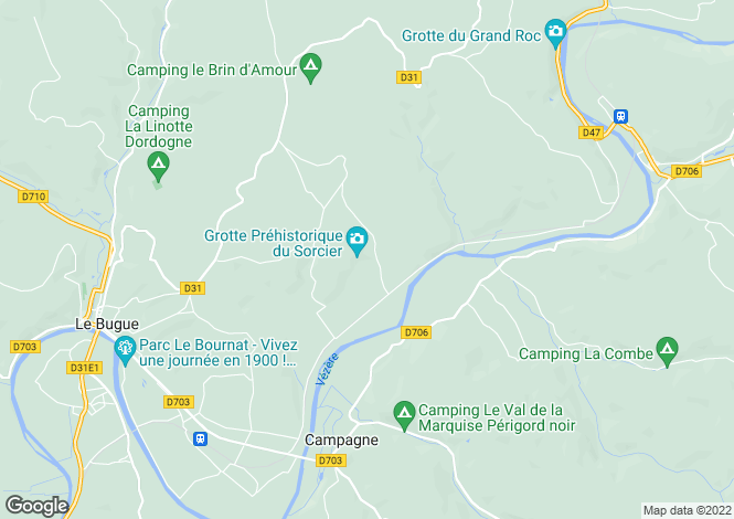 Map for st-cirq, Dordogne, France