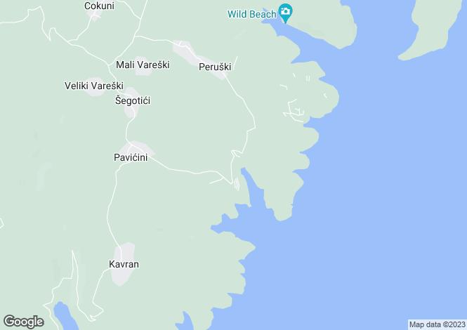 Map for Istra, Marcana, Croatia