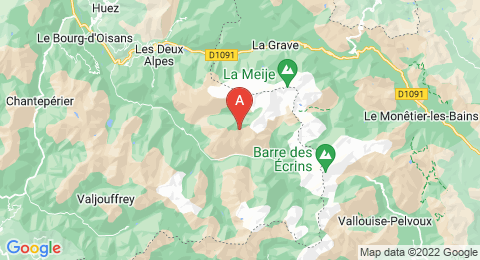 map of Aiguille Dibona (France)