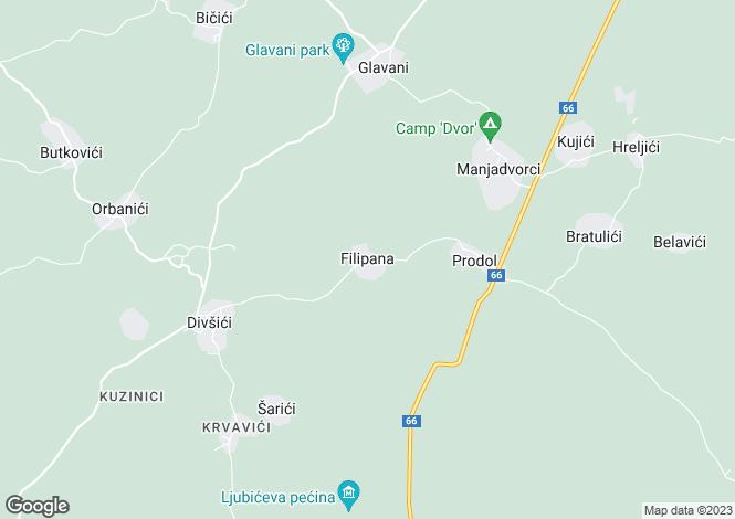 Map for Two Luxury Villas With Pool, Near Pula, Istria, Croatia