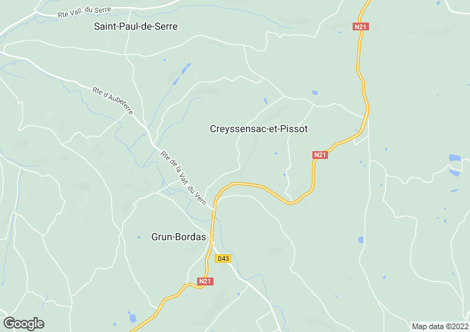 Map for 24800 SAINT-PAUL-LA-ROCHE, Dordogne, France