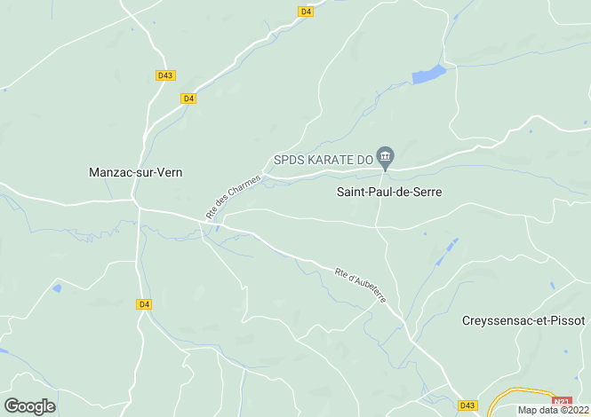 Map for st-paul-de-serre, Dordogne, France