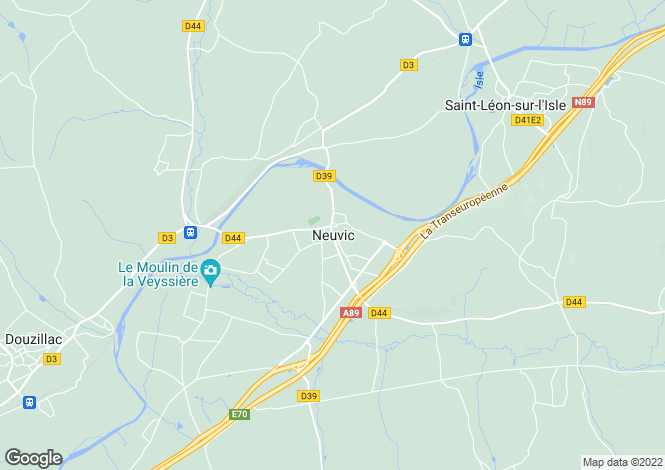 Map for Secteur: Neuvic, Dordogne