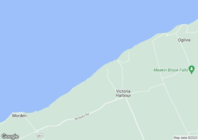 Map for Nova Scotia, Berwick