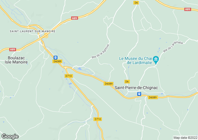 Map for ste-marie-de-chignac, Dordogne, France