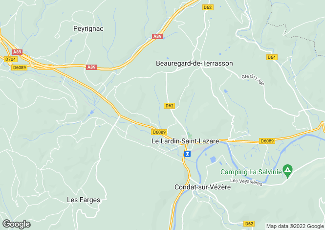 Map for le-lardin-st-lazare, Dordogne, France