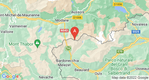 map of Pointe de Paumont (France)