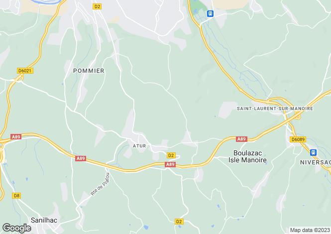 Map for Dordogne, Dordogne, Aquitaine