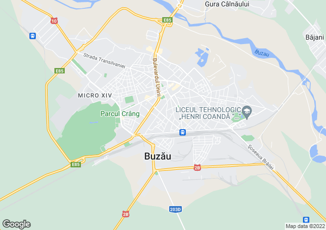Map for Buzau, Buzau
