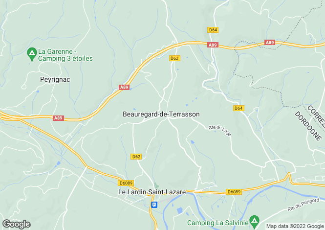 Map for beauregard-de-terrasson, Dordogne, France