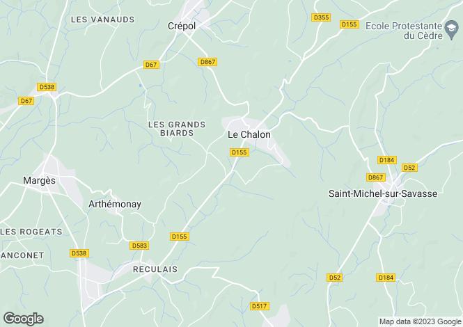 Map for , Drôme, France