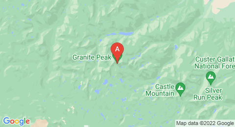map of Granite Peak (2) (United States of America)